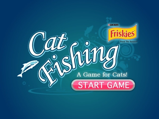 Pepita con friskies cat fishing per ipad marco for Friskies cat fishing